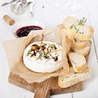 A foodie affair with Camembert
